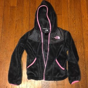 Girls The North Face Full Zip Hoodie